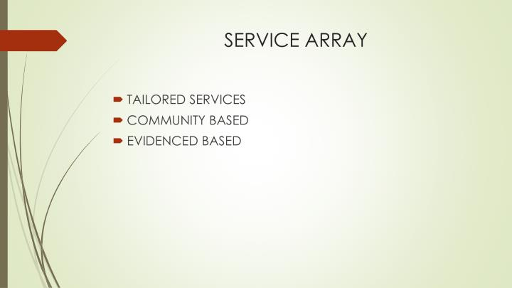 SERVICE ARRAY