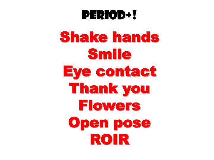 Period+!