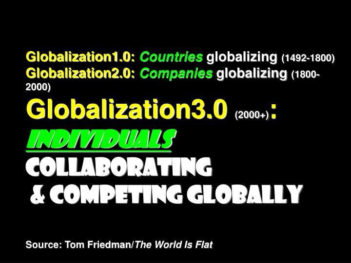 Globalization1.0:
