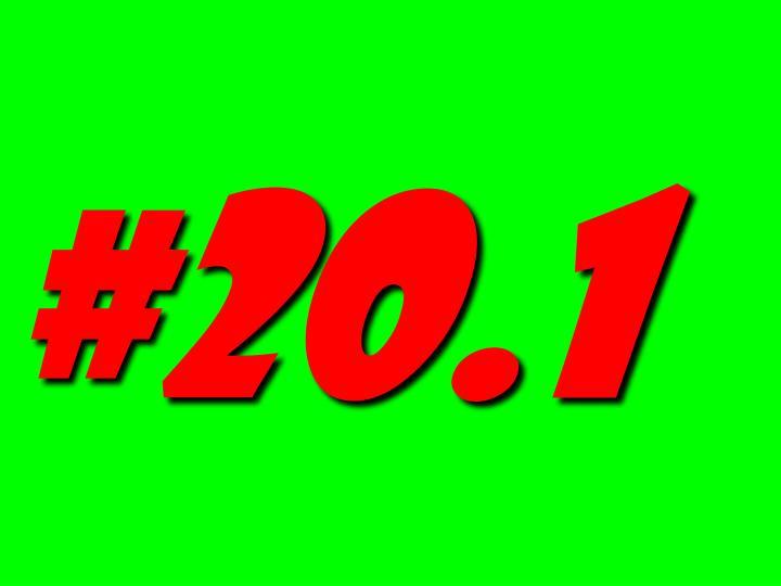 #20.1