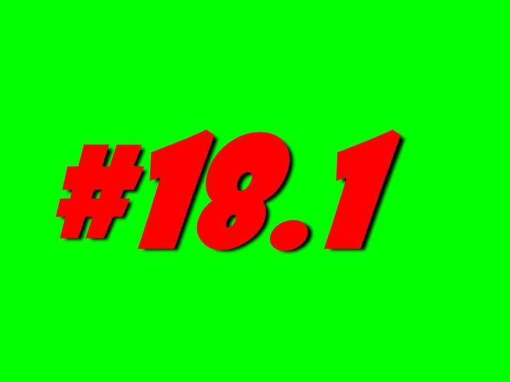#18.1