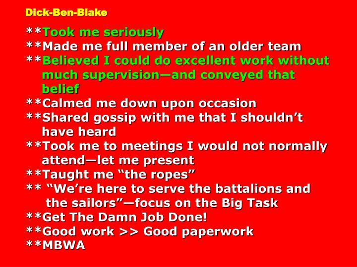 Dick-Ben-Blake