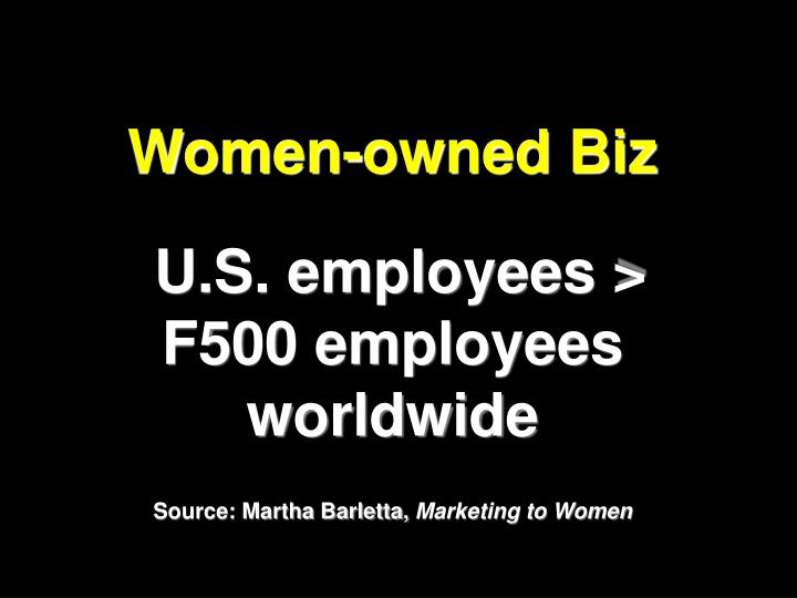 Women-owned Biz