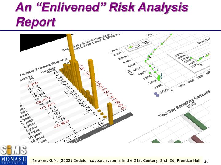 "An ""Enlivened"" Risk Analysis Report"