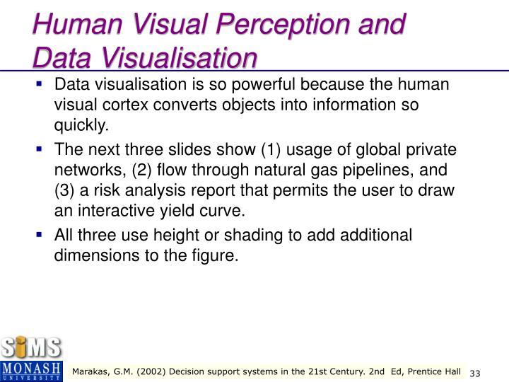 Human Visual Perception and