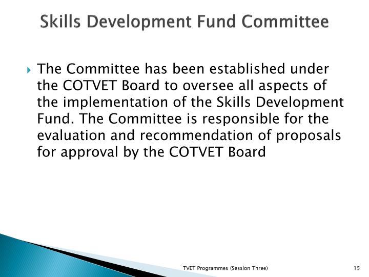 Skills Development Fund Committee