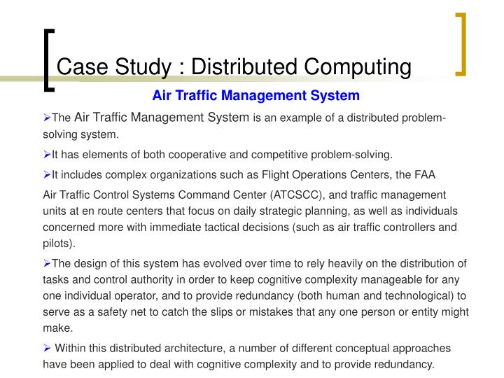 Case Study : Distributed Computing