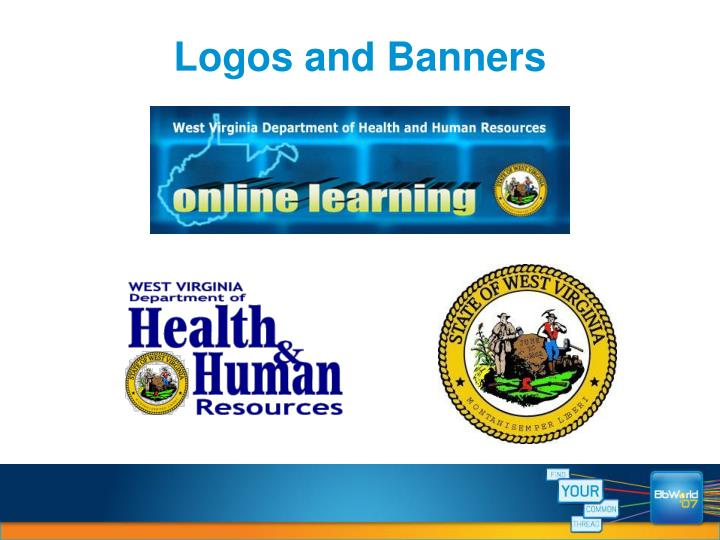 Logos and Banners