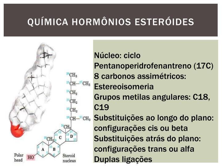 QUÍMICA HORMÔNIOS
