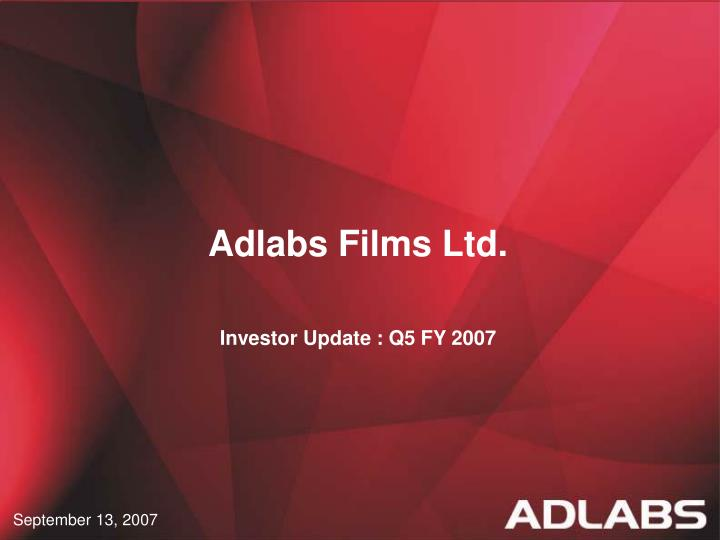 Adlabs Films Ltd.
