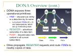 dona overview cont