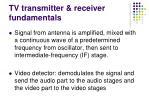 tv transmitter receiver fundamentals4