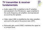 tv transmitter receiver fundamentals5