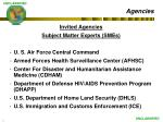 agencies