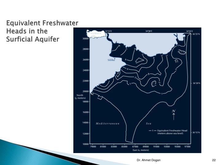 Equivalent Freshwater