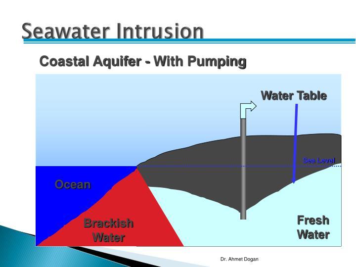 Seawater Intrusion