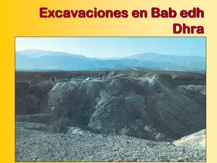 Excavaciones en Bab edh Dhra