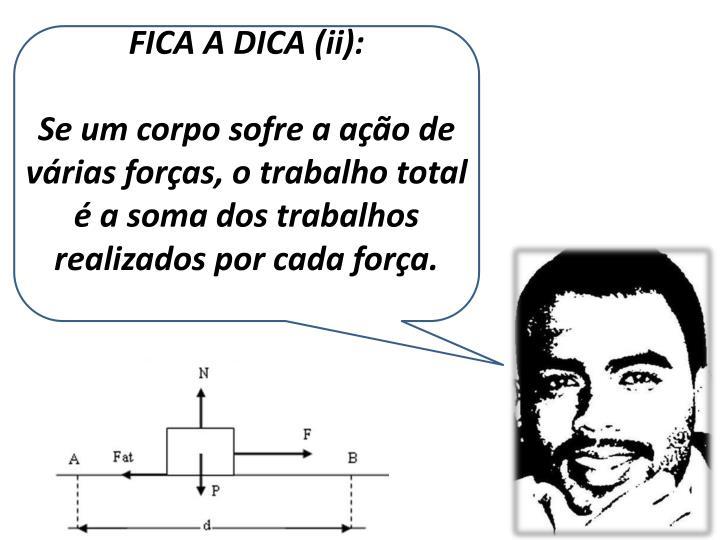 FICA A DICA (ii):