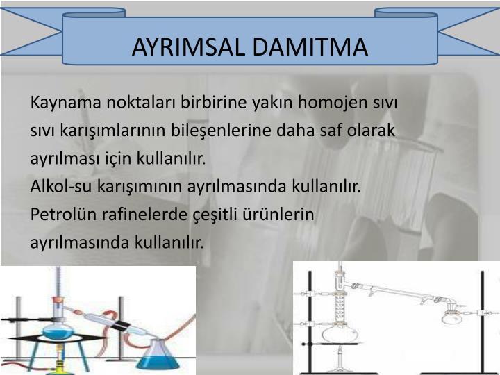 AYRIMSAL DAMITMA