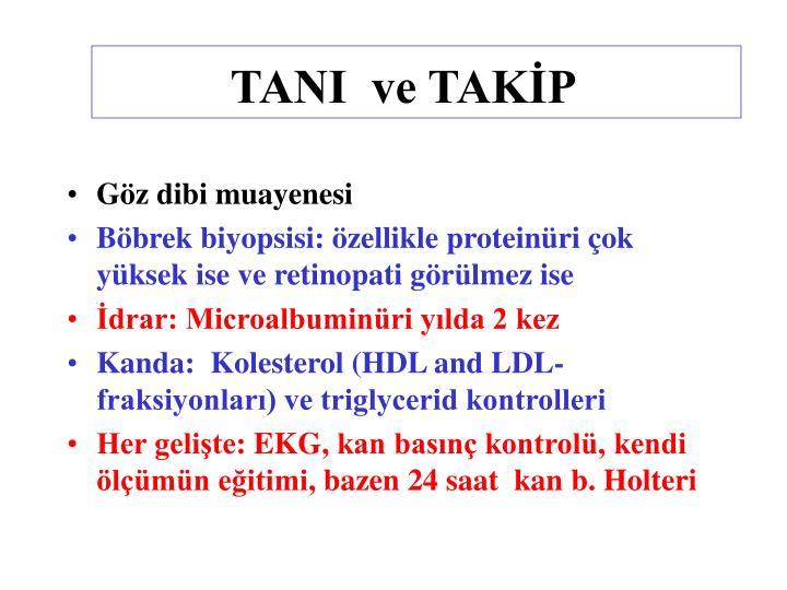 TANI  ve TAKİP