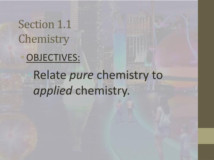 Section 1 1 chemistry1