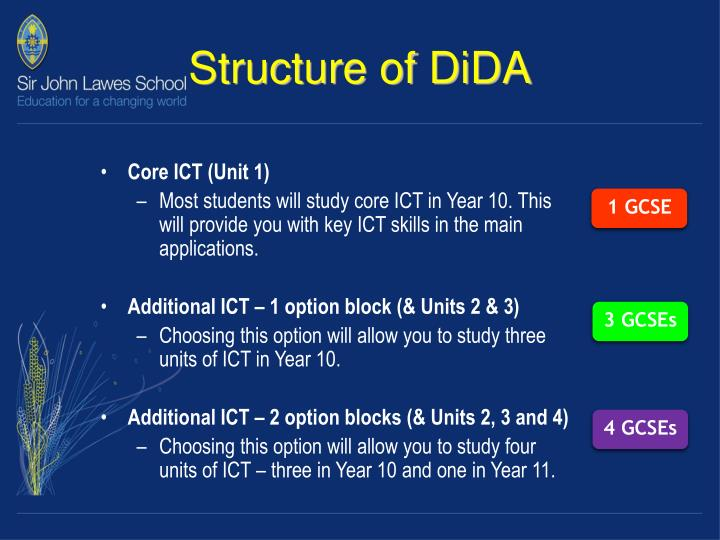 Structure of DiDA