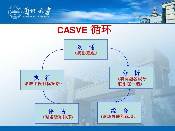 CASVE