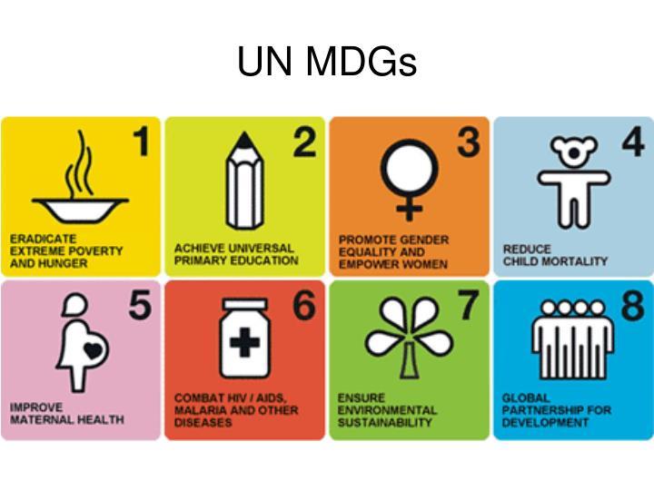 UN MDGs