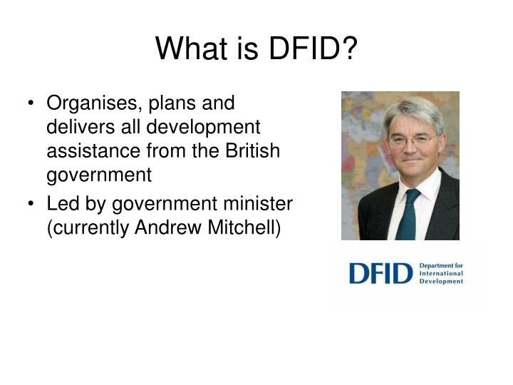 What is DFID?