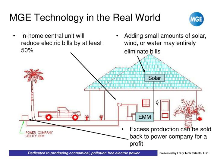 Adding small amounts of solar, wind, or water may entirely eliminate bills