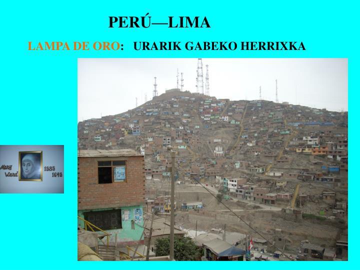 PERÚ—LIMA