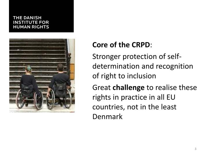 Core of the CRPD