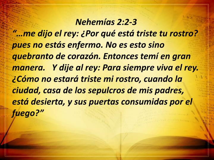 Nehemías 2:2-3