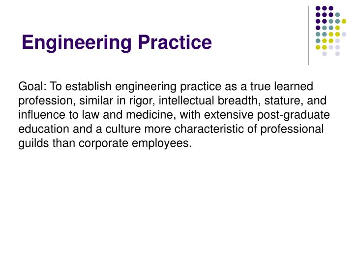 Engineering Practice
