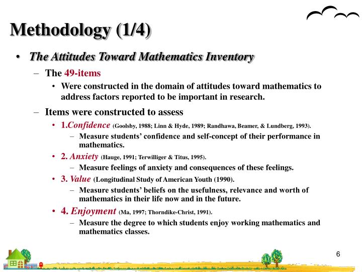 Methodology (1/4)
