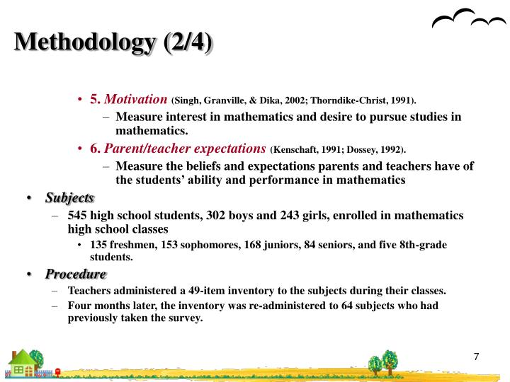 Methodology (2/4)