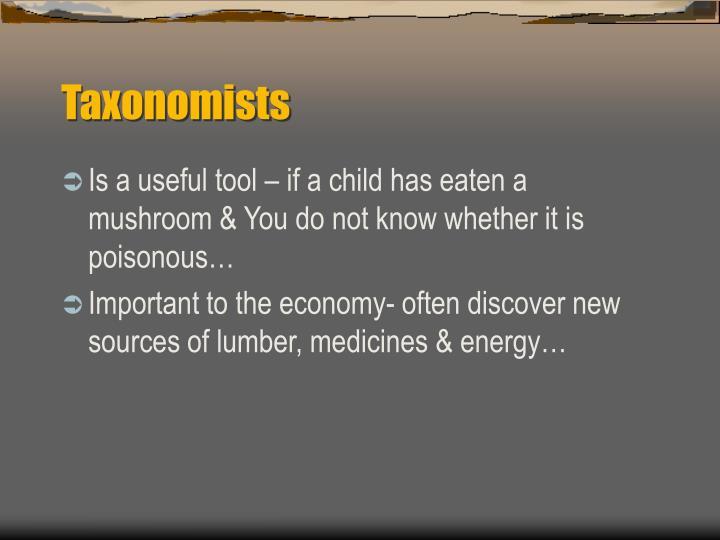 Taxonomists