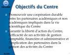 objectifs du centre1
