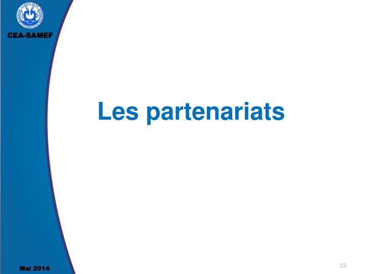Les partenariats