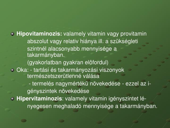 Hipovitaminozis: