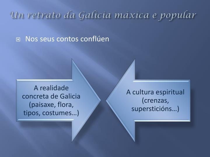Un retrato da Galicia máxica e popular
