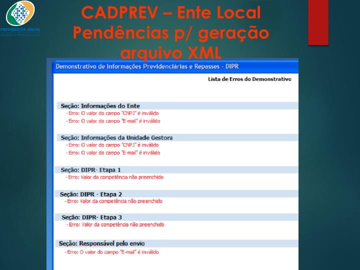 CADPREV – Ente Local
