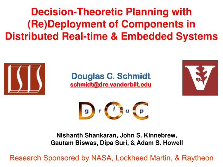 Decision-Theoretic Planning with (Re)Deployment of Components in Distributed Real-time & Embedded Sy...