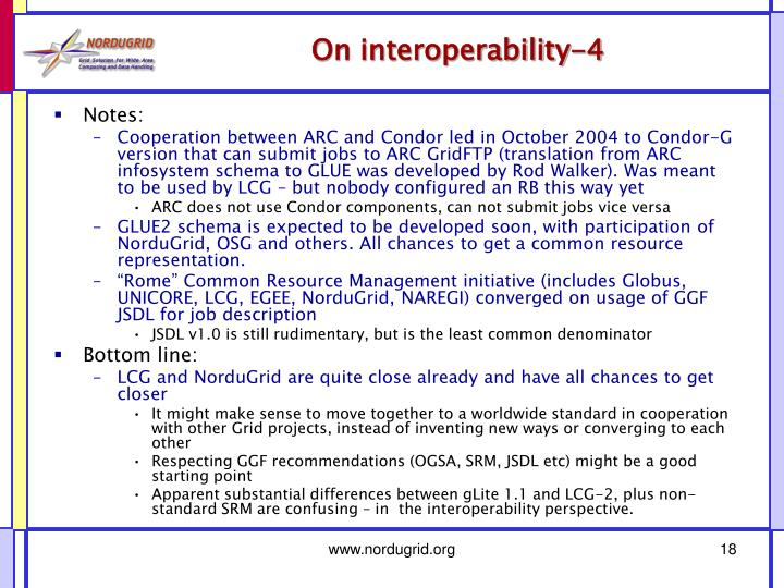 On interoperability-4