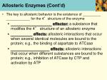 allosteric enzymes cont d1