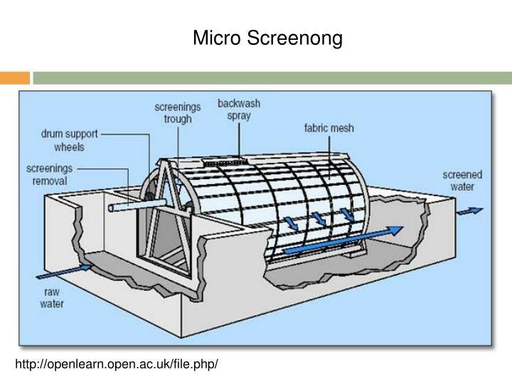 Micro Screenong