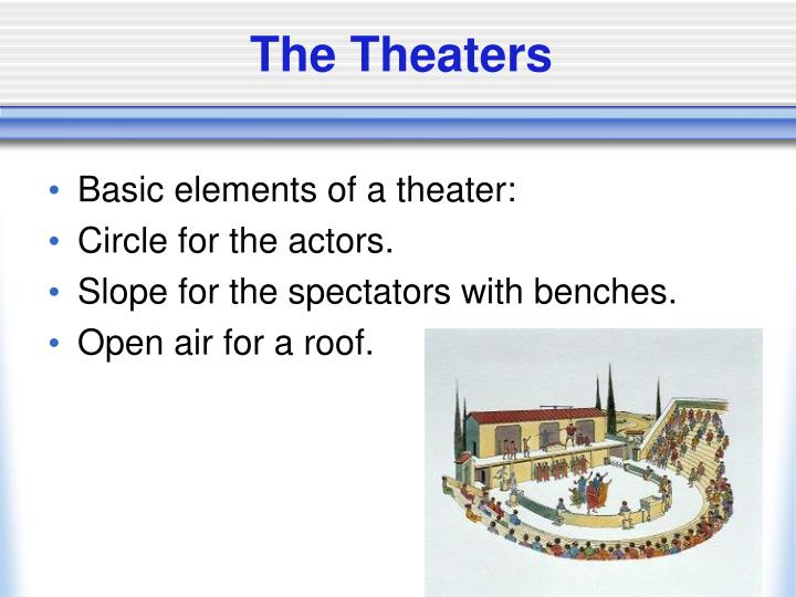 The Theaters