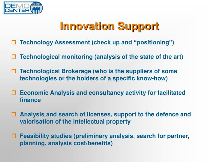 Innovation Support