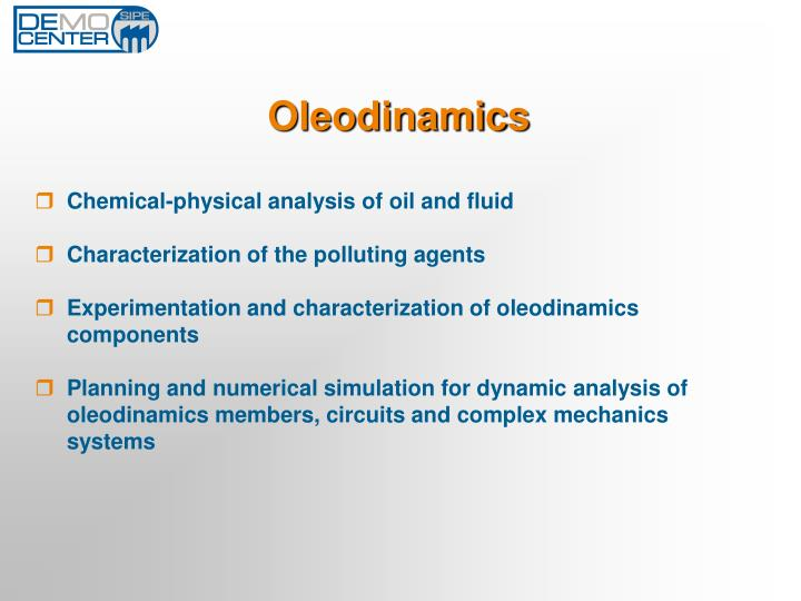 Oleodinamics