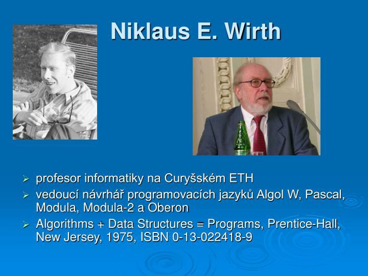 Niklaus E. Wirth